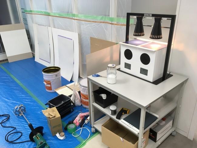 塗料メーカーで断熱塗料の講習を受けてきました。